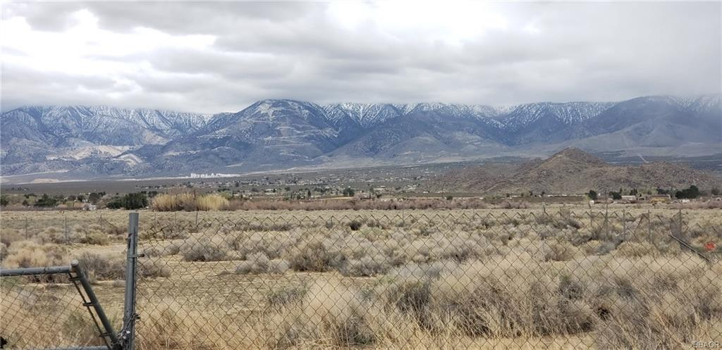 0 Hwy 18 ( Old Woman Springs) Road Property Photo - Lucerne Valley, CA real estate listing