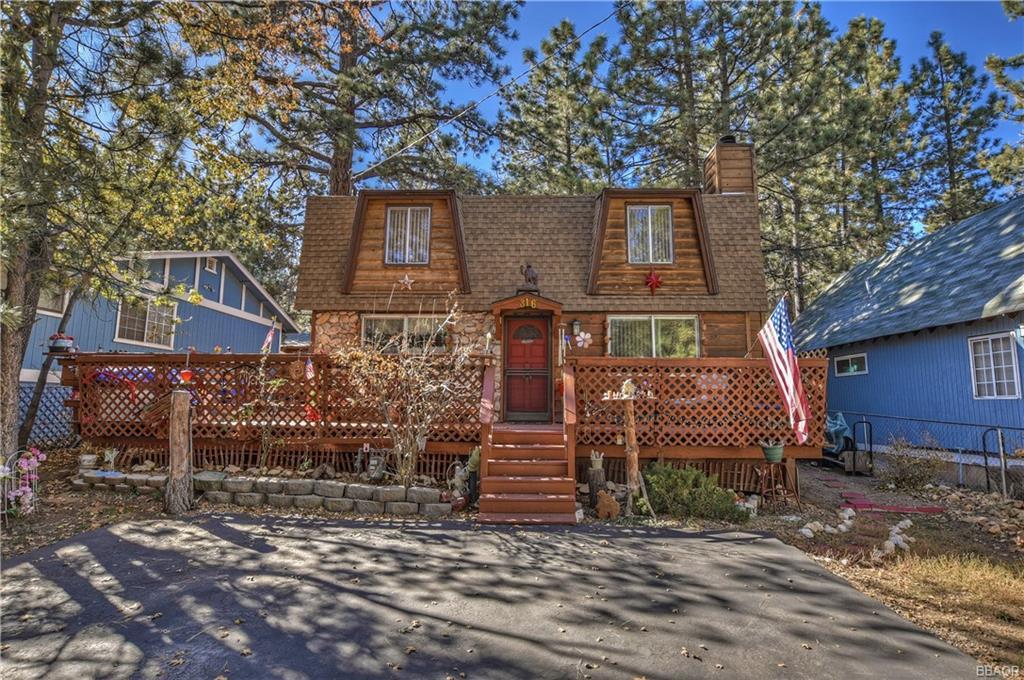 316 Cedar Lane, Sugarloaf, CA 92386 - Sugarloaf, CA real estate listing