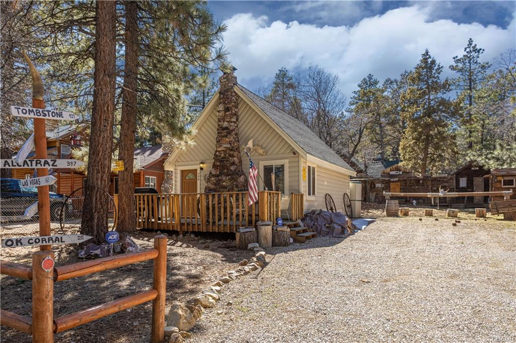 356 Spruce Lane, Sugarloaf, CA 92386 - Sugarloaf, CA real estate listing