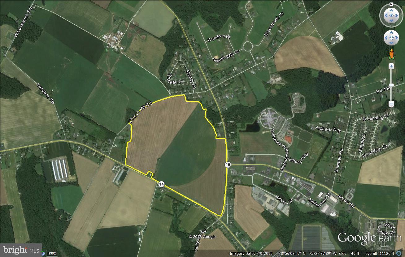 182 Acres Milford-harrington Highway Property Photo