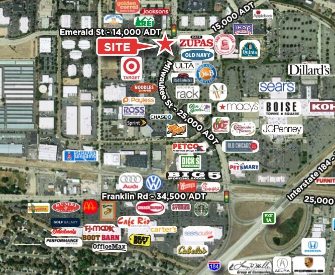 675 Milwaukee St Property Photo - Boise, ID real estate listing