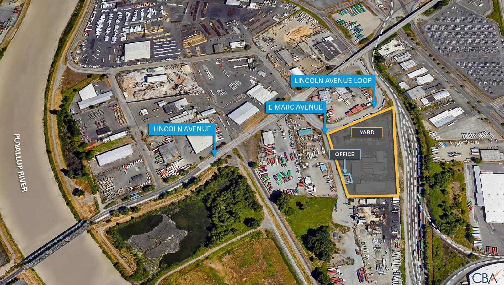 2021 E Marc Ave #Yard + Office Property Photo - Tacoma, WA real estate listing