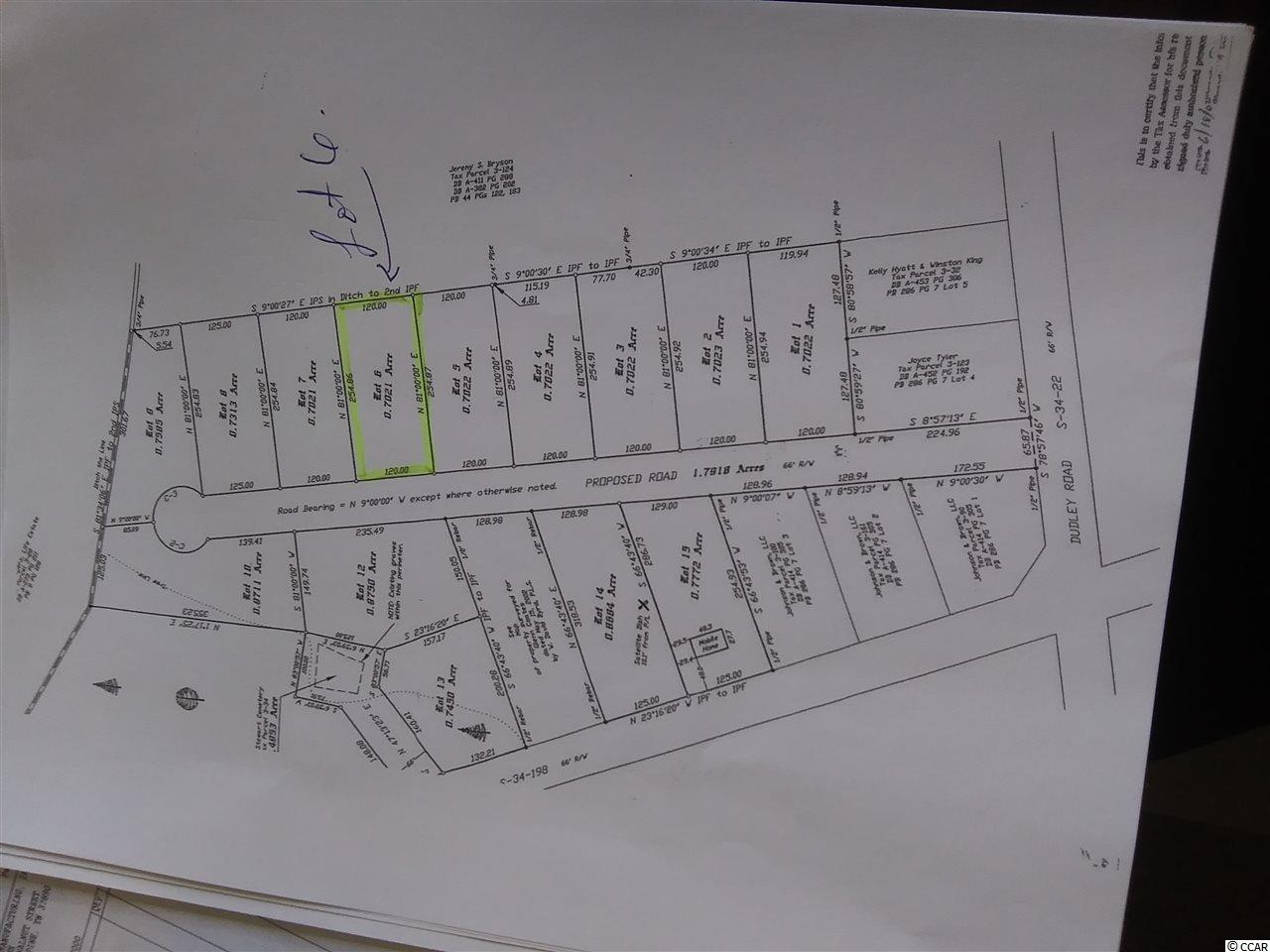 Lot 6 Dudley Rd. Property Photo