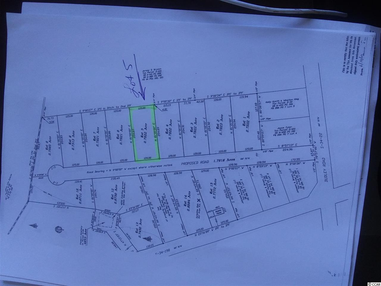 Lot 5 Dudley Rd. Property Photo