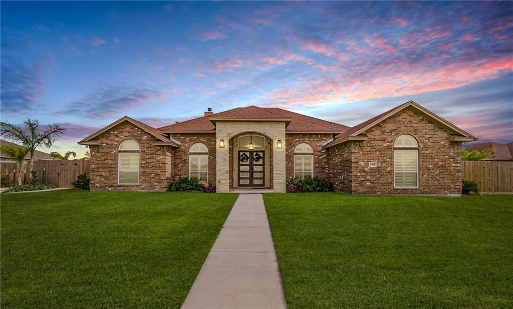 641 Hyacinth Drive Property Photo - Corpus Christi, TX real estate listing