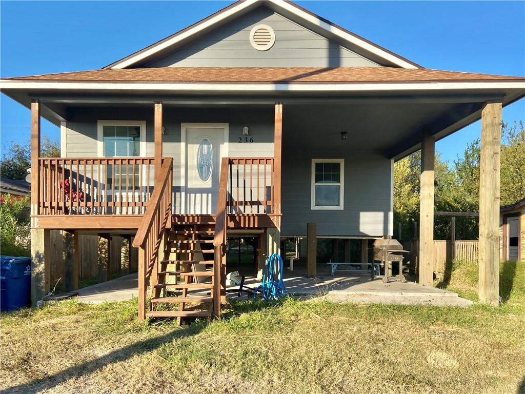 236 Sunset Drive Property Photo - Gregory, TX real estate listing