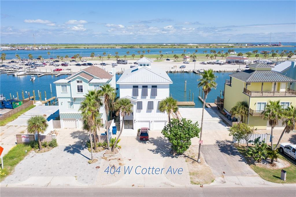 404 W Cotter Avenue Property Photo - Port Aransas, TX real estate listing