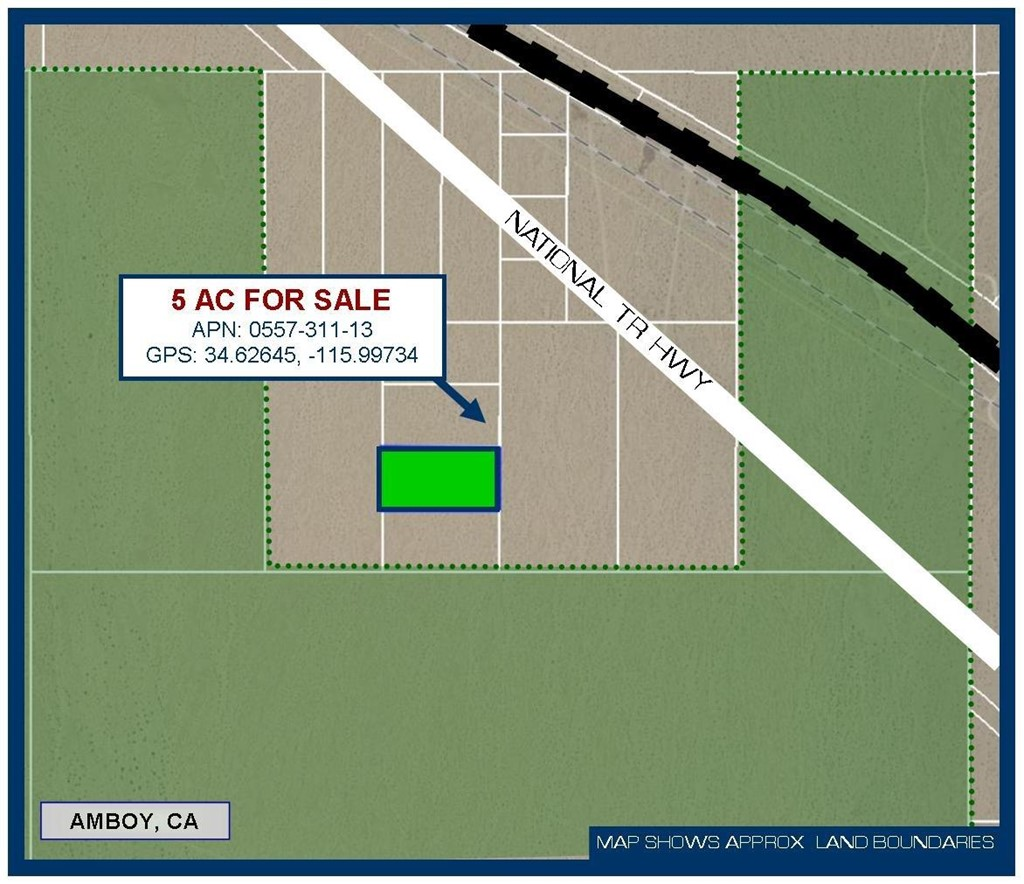 5 Ac Off National Trails Highway Property Photo