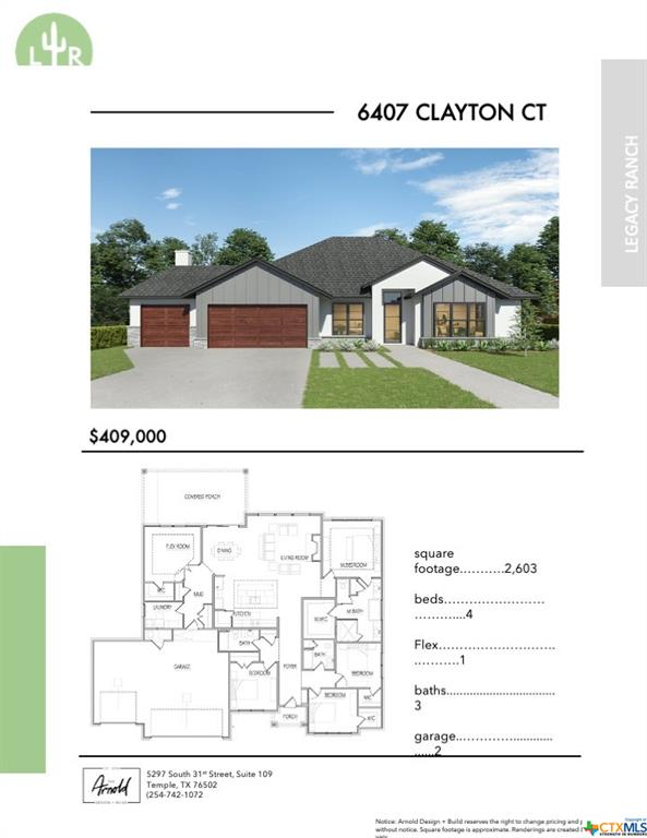 6407 Clayton Court Property Photo