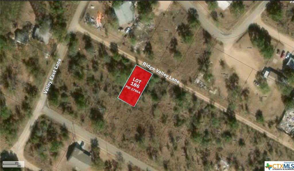 0 RIDGE VALLEY Lane Property Photo - Granite Shoals, TX real estate listing