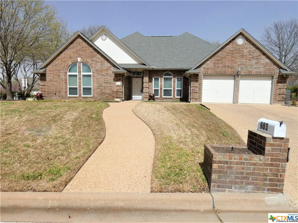 603 Gazelle Trail Property Photo - Harker Heights, TX real estate listing