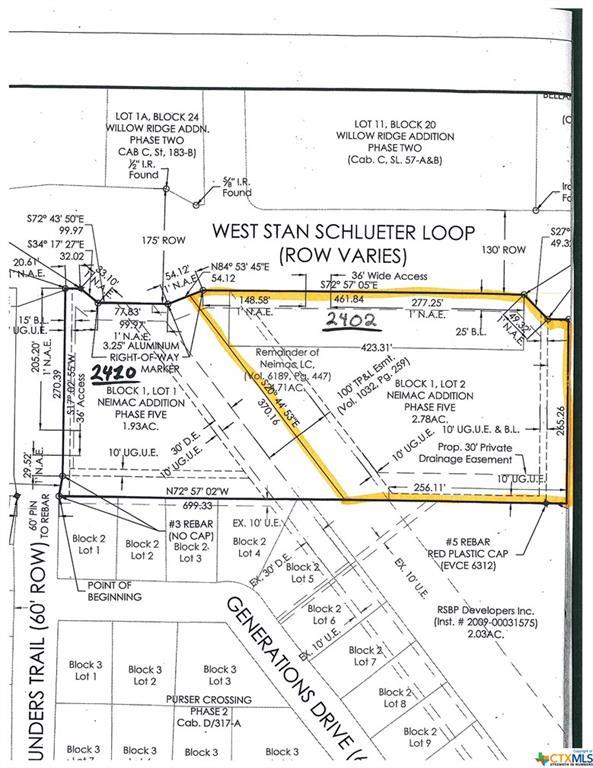 2402 W Stan Schlueter Loop Property Photo - Killeen, TX real estate listing