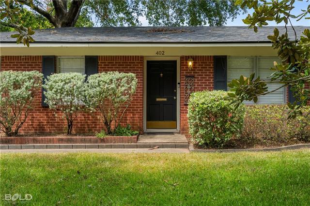 402 Sandefur Property Photo - Shreveport, LA real estate listing