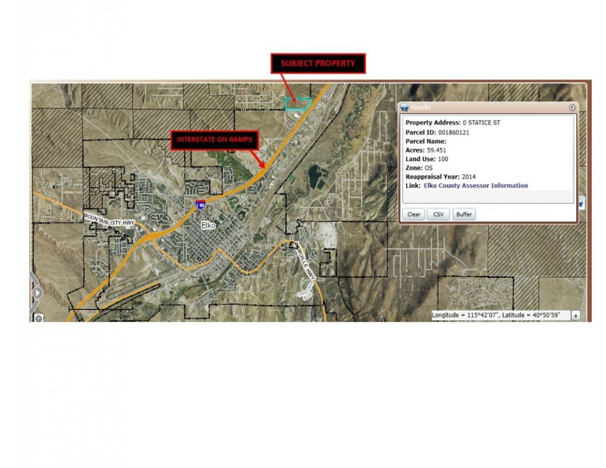0 Statice St Street Property Photo - Elko, NV real estate listing