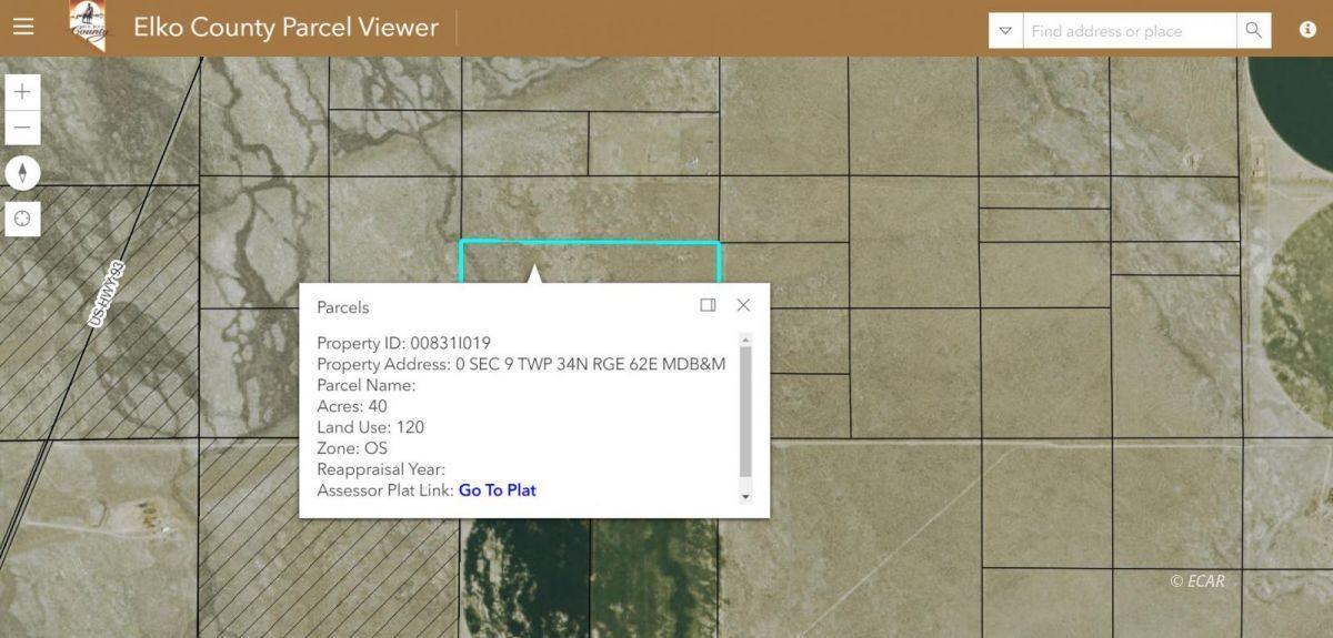 TBD Property Photo - Wells, NV real estate listing