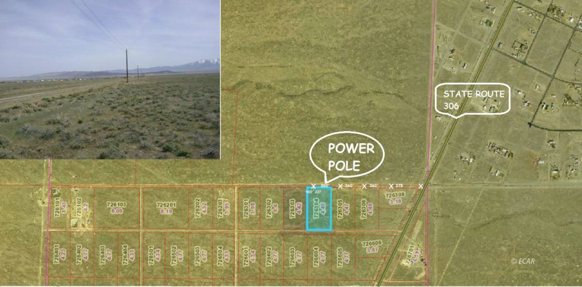 TBD 8th Street Property Photo - Crescent Valley, NV real estate listing