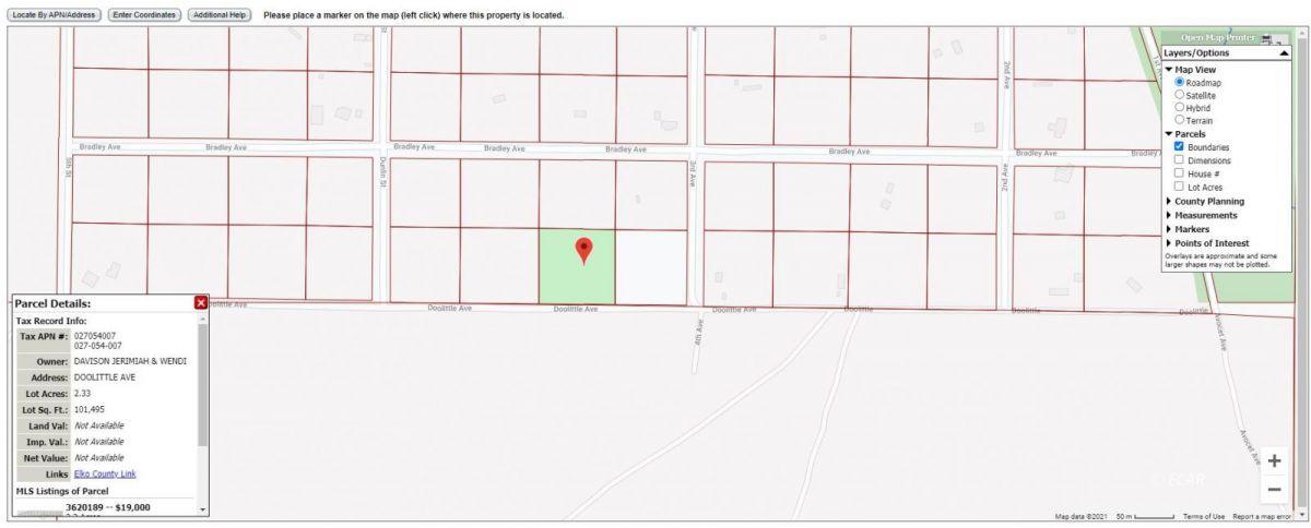 Lot 7 & 8 Doolittle Avenue Property Photo 1