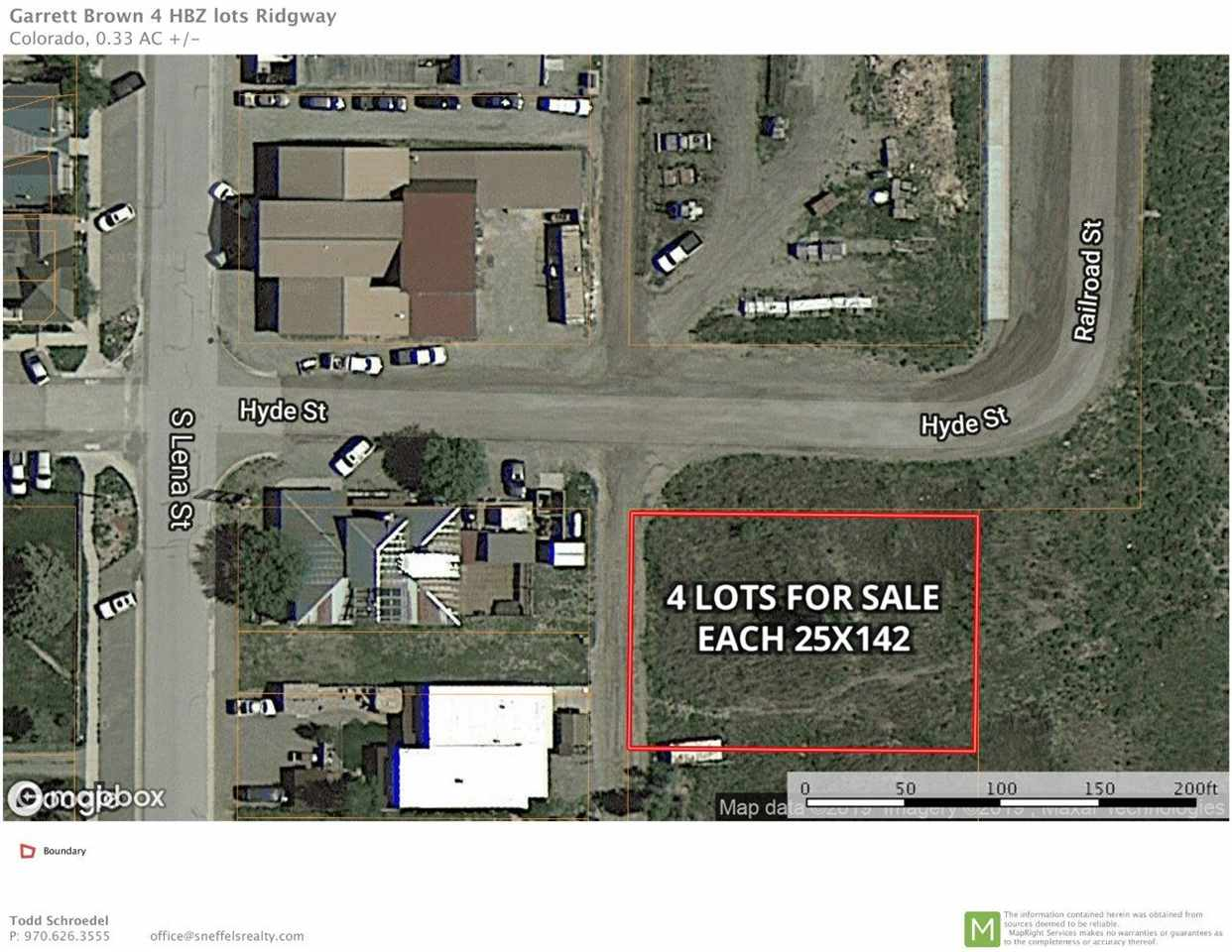 Lots 13-16 Hyde Street Property Photo - Ridgway, CO real estate listing