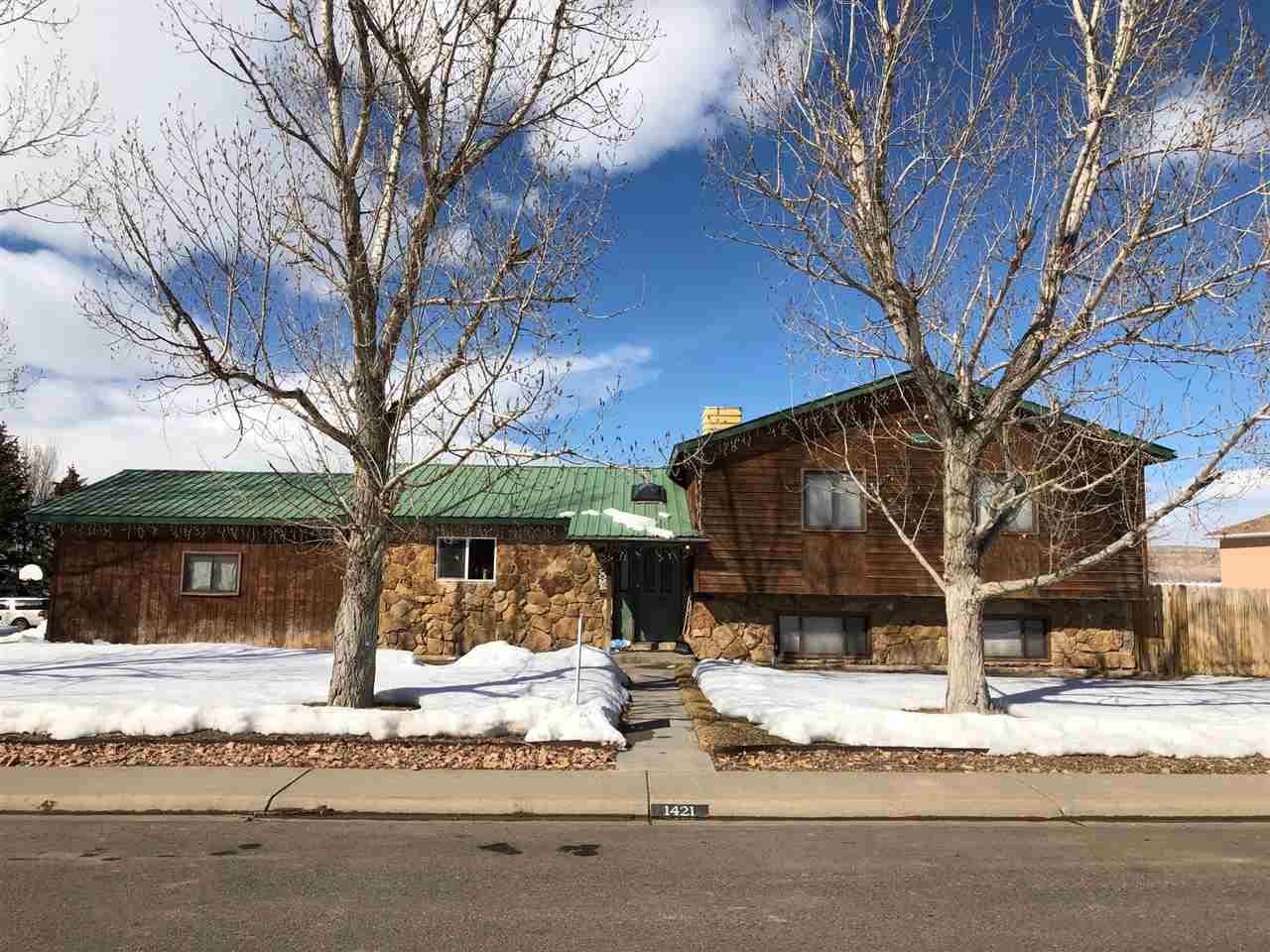 1421 La Mesa Circle Property Photo - Rangely, CO real estate listing