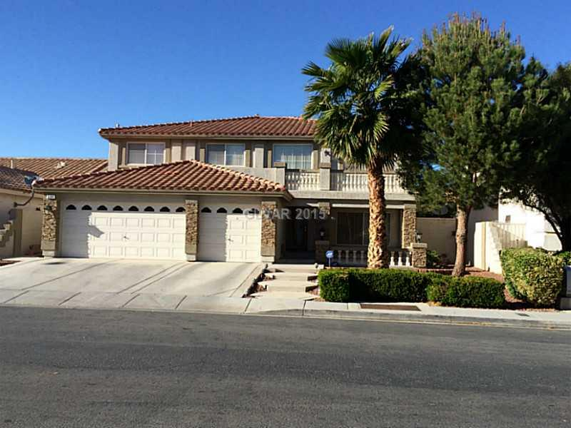 534 CAMPUS OAKS Court Property Photo - Las Vegas, NV real estate listing