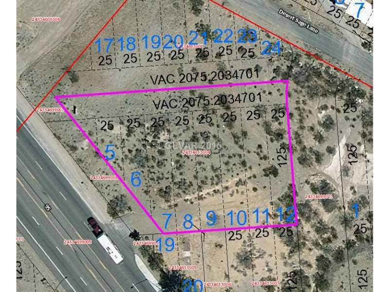 0 U. S. HIGHWAY 95 Property Photo - Searchlight, NV real estate listing