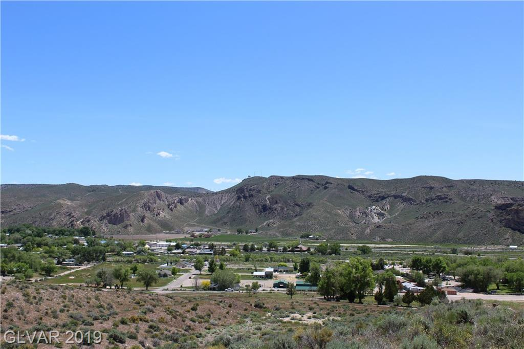 Highway 93 Hillside Residential Property Photo - Caliente, NV real estate listing