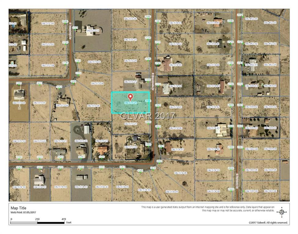 2800 S SAGEBRUSH Property Photo - Pahrump, NV real estate listing