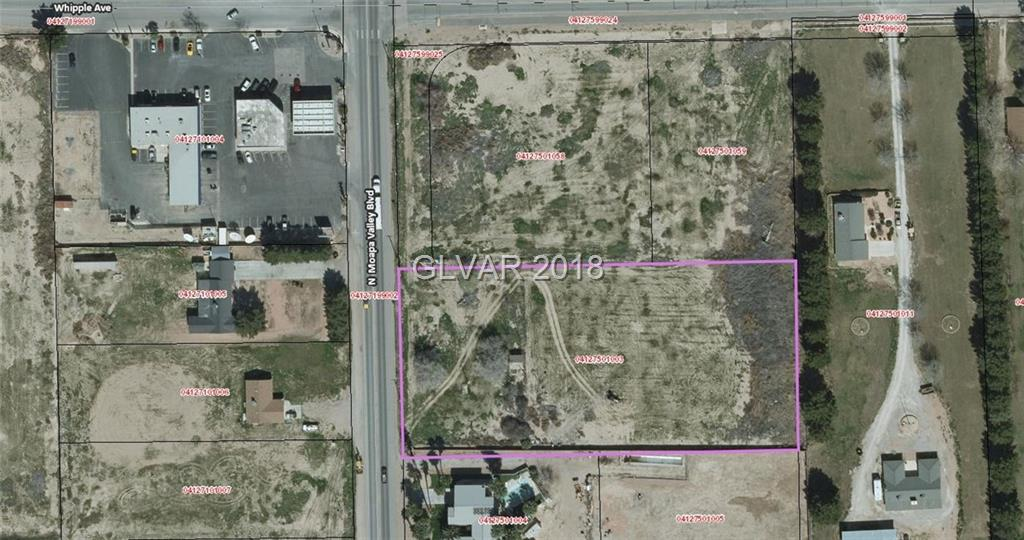 Moapa Valley Boulevard Property Photo - Logandale, NV real estate listing