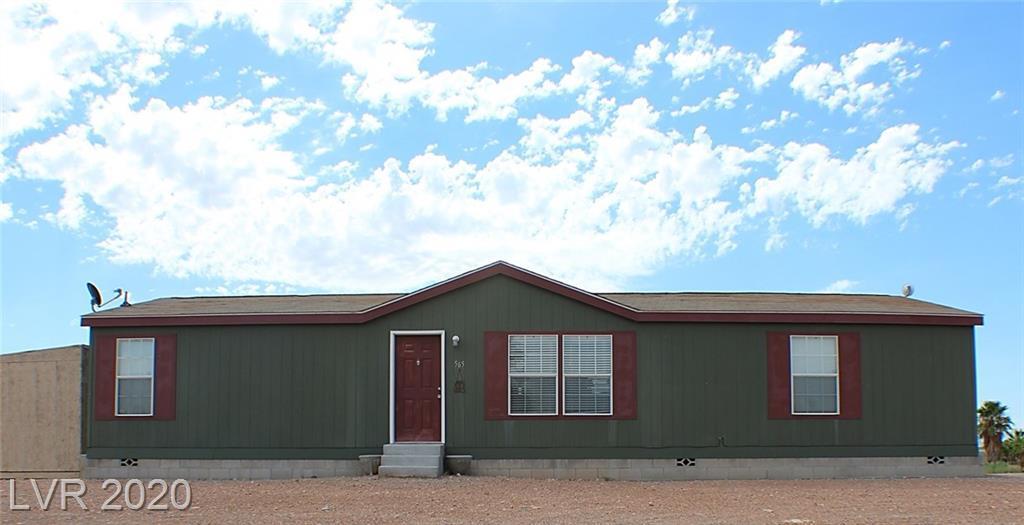 565 BADER Avenue Property Photo - Overton, NV real estate listing