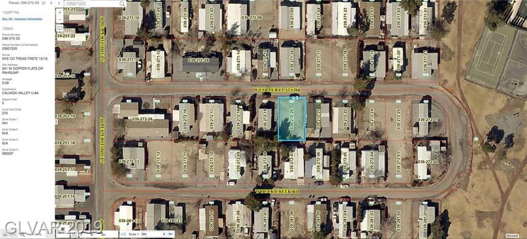 261 W COPPER FLATS Property Photo - Pahrump, NV real estate listing