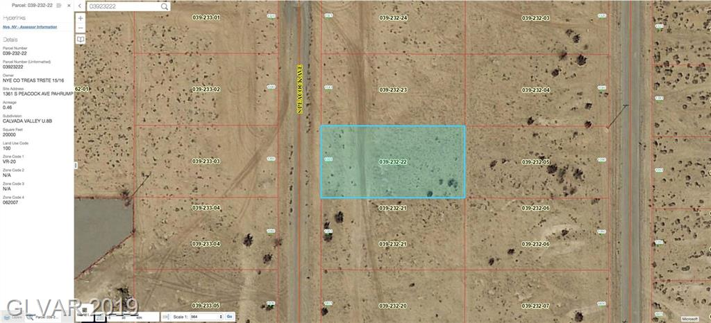 1361 S PEACOCK Property Photo - Pahrump, NV real estate listing
