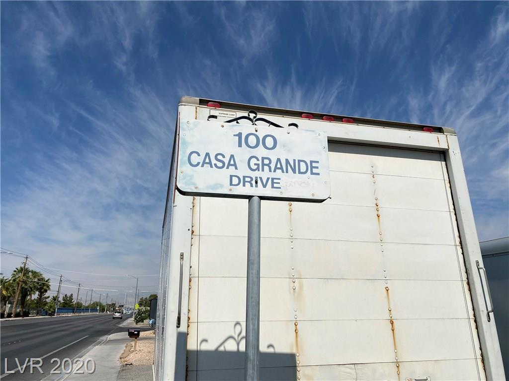 100 CASA GRANDE Drive Property Photo - Las Vegas, NV real estate listing