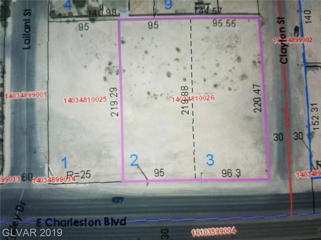 0 CLAYTON Property Photo - Las Vegas, NV real estate listing