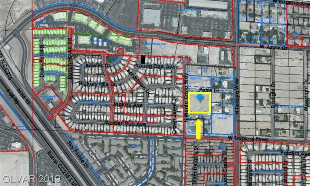 N Monte Cristo Way Property Photo - Las Vegas, NV real estate listing