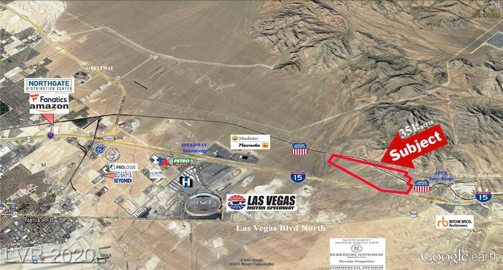US I-15 HWY - Apex Industrial Park Property Photo - North Las Vegas, NV real estate listing