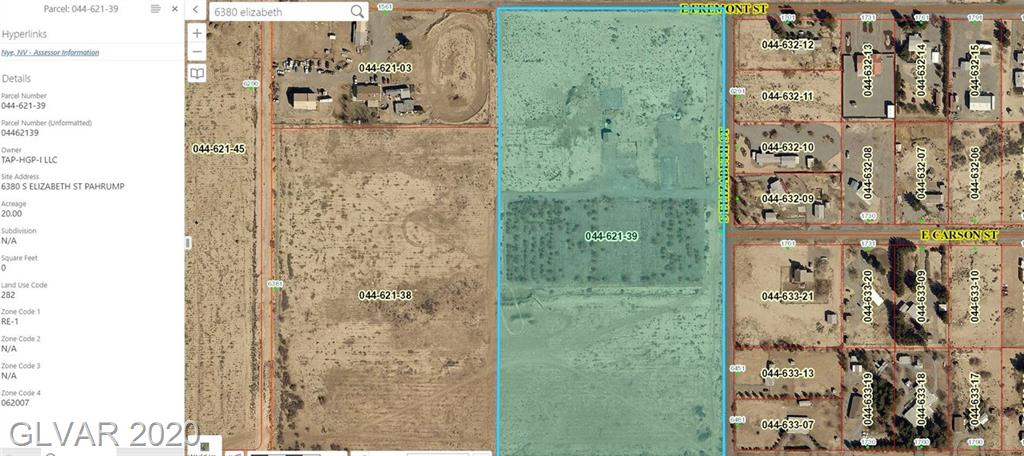 6380 S ELIZABETH Property Photo - Pahrump, NV real estate listing