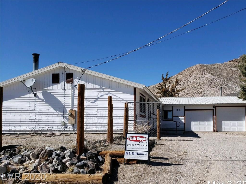 22 Crescent Drive Property Photo - Tonopah, NV real estate listing