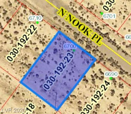 6700 Nook Place Property Photo - Pahrump, NV real estate listing