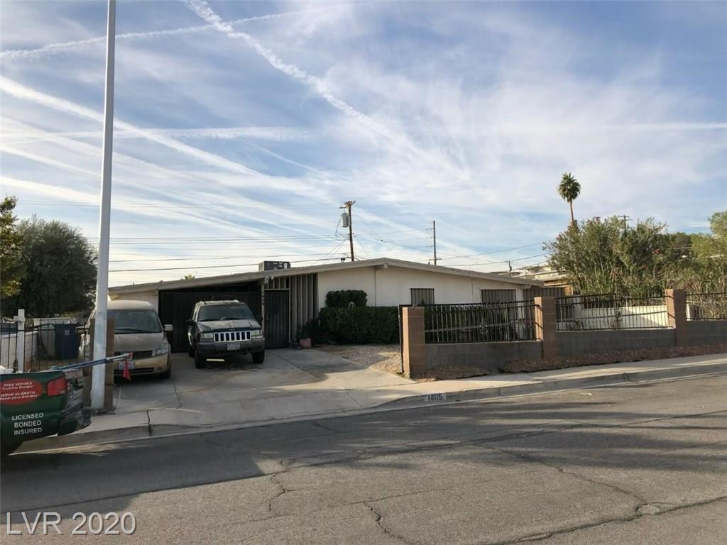 1405 Ryan Property Photo - Las Vegas, NV real estate listing
