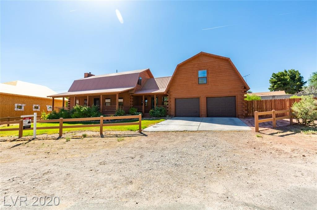 68 Lassen Street Property Photo - Blue Diamond, NV real estate listing