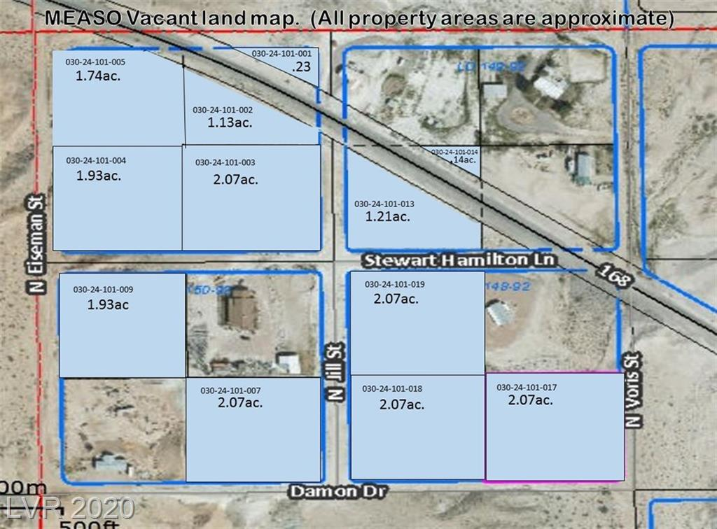 0 STEWART HAMILTON Lane Property Photo - Moapa, NV real estate listing