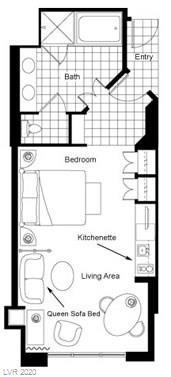 125 Harmon #3305 Property Photo - Las Vegas, NV real estate listing