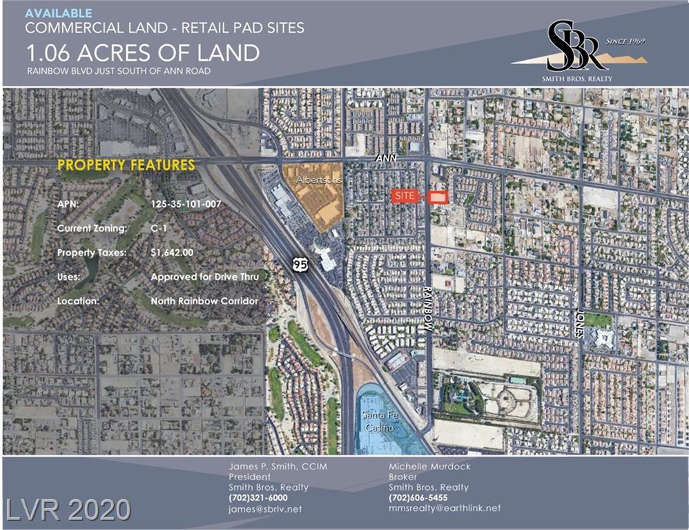 5445 Rainbow Property Photo - Las Vegas, NV real estate listing