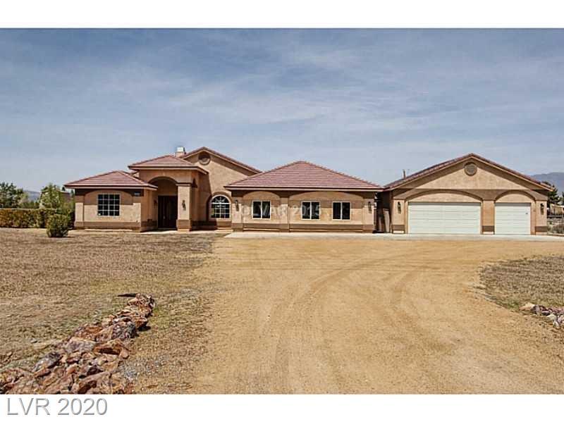 900 E Gamebird Road Property Photo - Pahrump, NV real estate listing