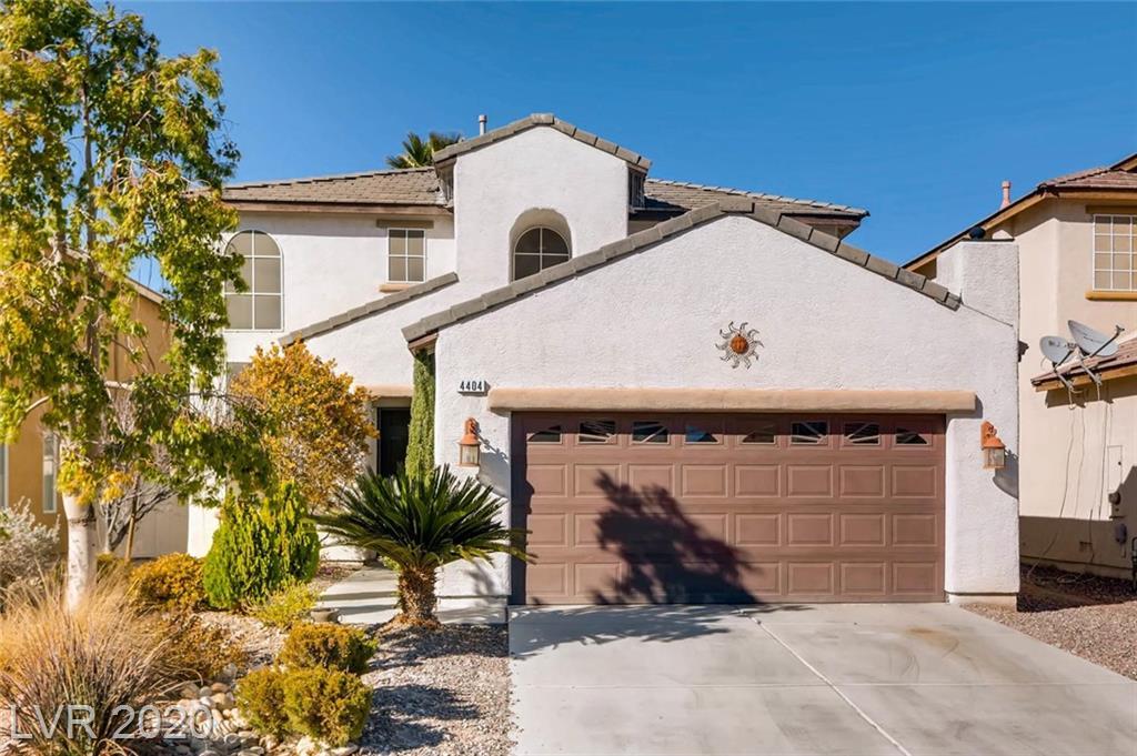 4404 Bacara Ridge Avenue Property Photo - Las Vegas, NV real estate listing