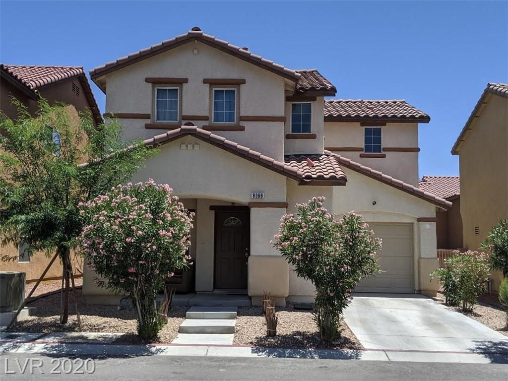 8368 Bismark Sapphire Street Property Photo - Las Vegas, NV real estate listing