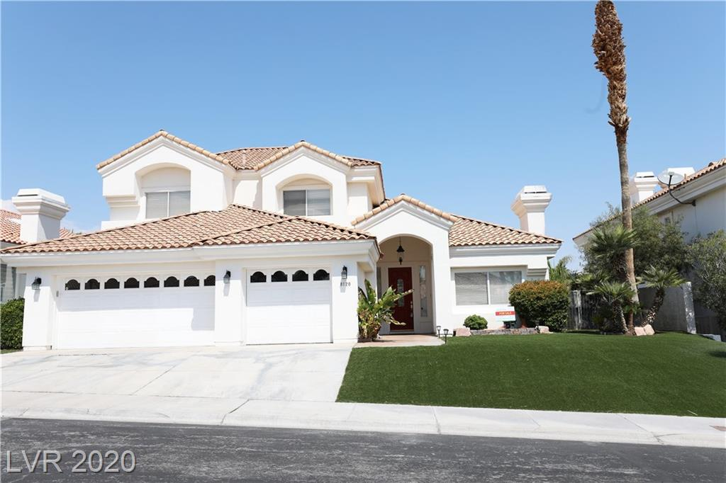 8120 Pacific Cove Drive Property Photo - Las Vegas, NV real estate listing