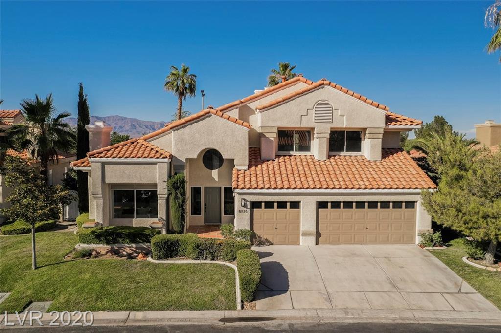 8816 Saint Pierre Drive Property Photo - Las Vegas, NV real estate listing