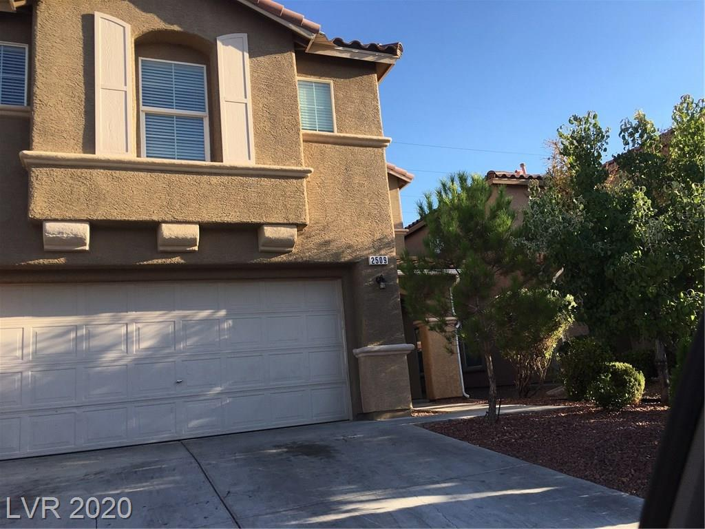 2509 Cockatiel Drive Property Photo - North Las Vegas, NV real estate listing