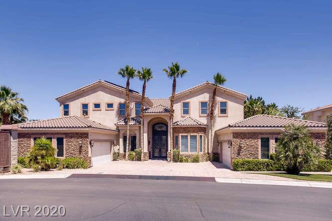 3216 Costa Smeralda Circle Property Photo - Las Vegas, NV real estate listing